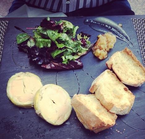 Restaurant L'Opéra Café: Foie Gras