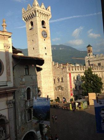 Hotel Aquila d'Oro : Utsikt från vårt rum