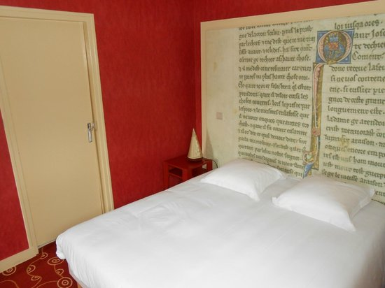 Hotel le Cobh : Une des chambres testées
