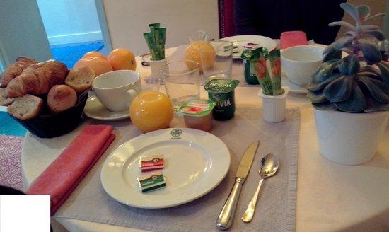 Hotel le Cobh : Copieux petit déjeuner