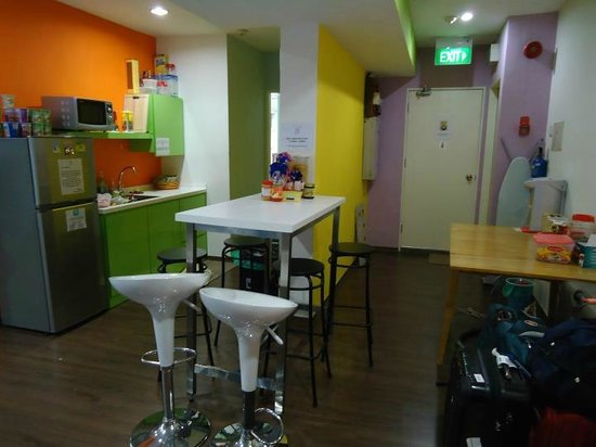 Beary Nice! by a beary good hostel: Dining tables and way to the comfort rooms
