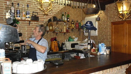 El Fogon Del Quijote: The owner models himself on Don Quijote, the famous Cervantes character