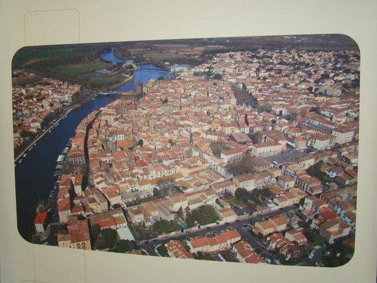 Vieux Agde: vue générale du Cap d'Agde