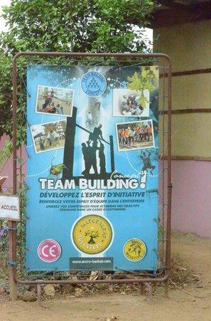 Accrobaobab Adventure : great teambuilding trip