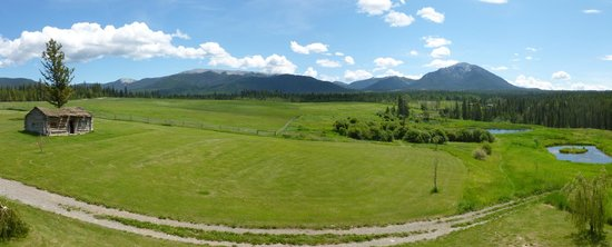 Echo Valley Ranch & Spa: Panoramic view from Lookout Lodge