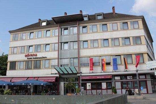Advena Hotel Hohenzollern: Hotel View