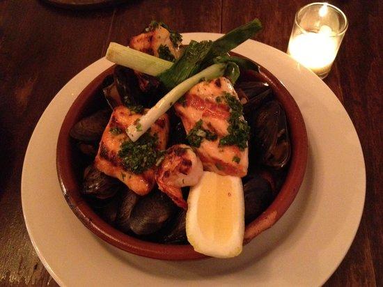 Sosa Borella: Seafood Parilla