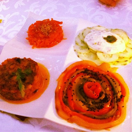 Riad Clementine: Moroccan salads