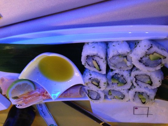Sasushi Light: Scampi Roll