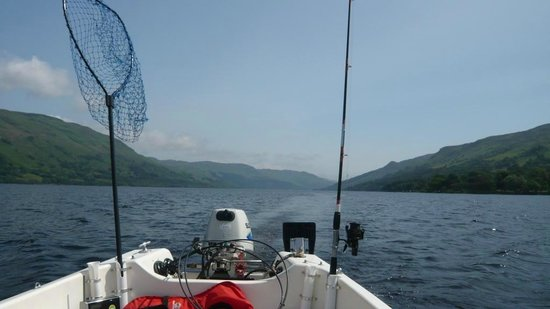 St. Fillans Boat Hire: Stunning day out on Loch Earn