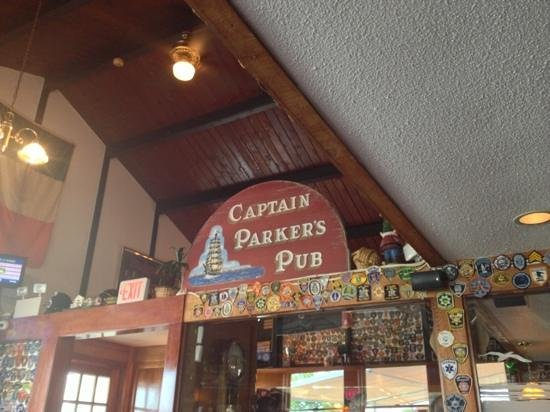 Captain Parker's Pub: from our table