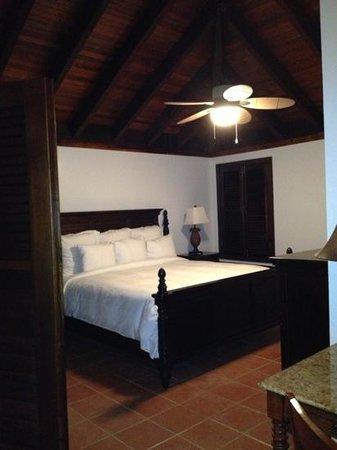 Renaissance St. Croix Carambola Beach Resort & Spa: King bed