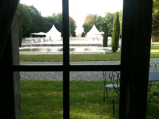 Château la Canière : vue de la chambre