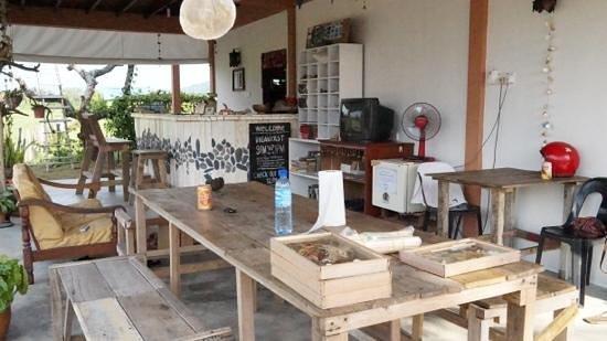 Soluna Guest House: Soluna Guesthouse reception area
