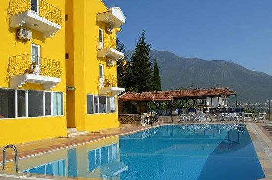 Parachute Hotel: Pool+Facade View