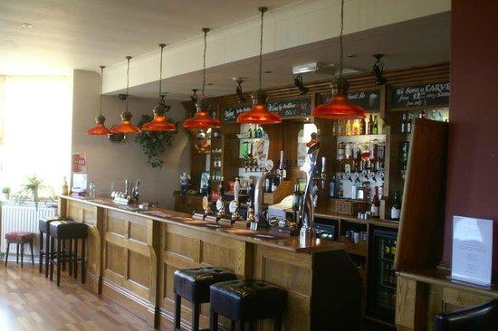 The Hill Top Inn: the bar