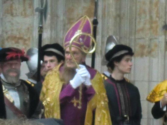 Notre Dame du Sablon : Personaggi della sfilata Ommegang