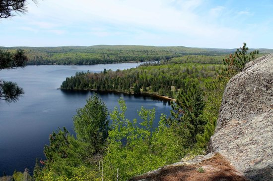 Red Deer Log Cabins and Campground: Algonquin Park