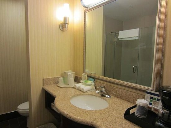 Holiday Inn Express & Suites Twentynine Palms- Joshua Tree: Room 202 - Bathroom