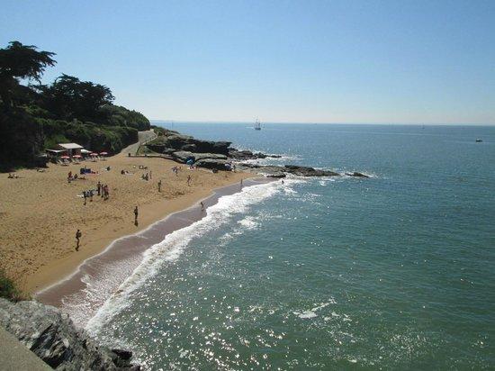 Une Escale à Pornic : une plage aux environs