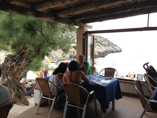Restaurante Ca'l Patro: Un lujo al borde del mar