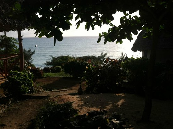 Sazani Beach Lodge: View from our room