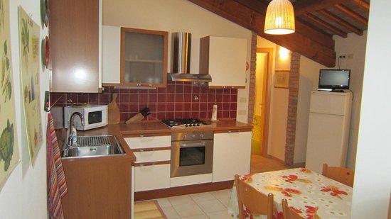 """Barchessa da Rio: Appartamento """"La Spiga"""": cucina"""