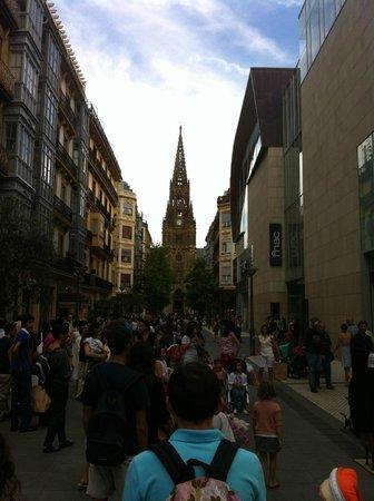 San Sebastian old town - Picture of Mimo San Sebastian ...
