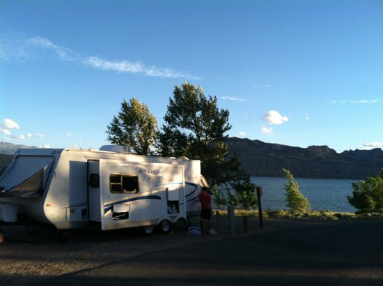 Buffalo Bill State Park : lovely site on the water