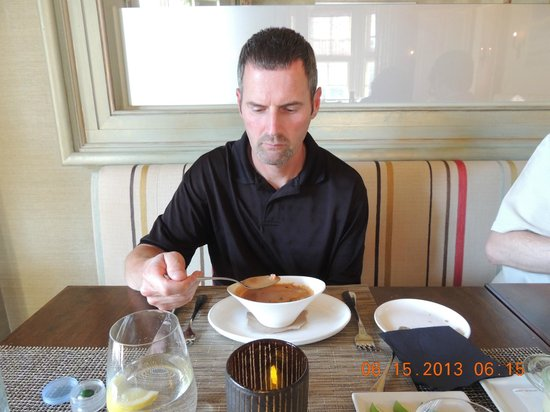 Jedediah Hawkins: Trying the lobster bisque