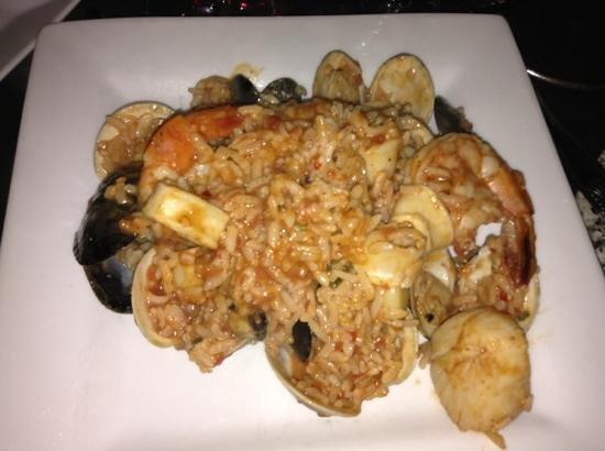 Strega : risotto with shellfish
