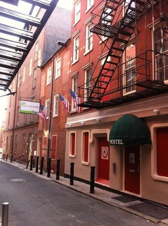 Apple Hostels Philadelphia: Fachada