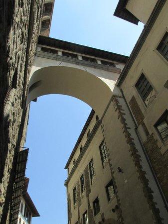 Entrance to corridor from Palazzo Vecchio - Picture of ...