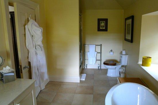 Archerfield House: Large but poorish shower