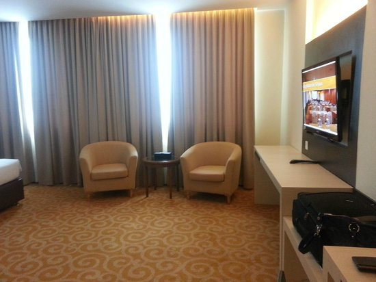 The BCC Hotel & Residence: big room