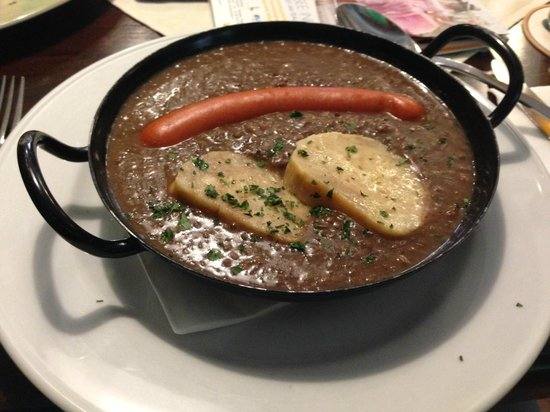 Hacklwirt : My lentils dish