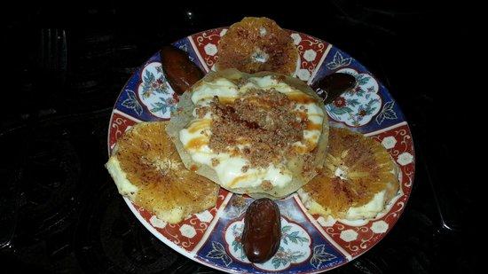 Riad Kniza: Dessert