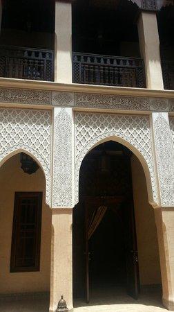 Riad Kniza: Courtyard