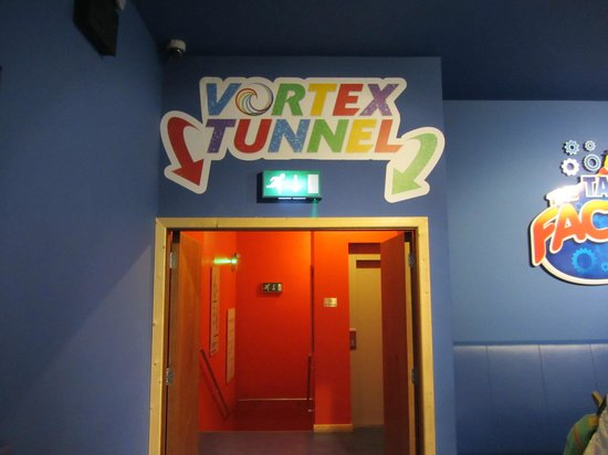 Tayto Park: Vortex Tunnel
