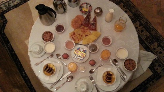 Riad Kniza: Breakfast