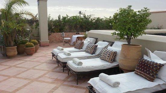 Riad Kniza: Rooftop