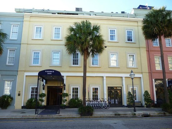 The Vendue Charleston's Art Hotel : A wonderful hotel