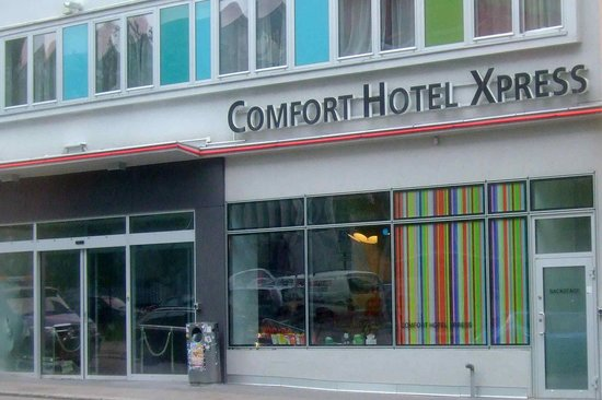 Comfort Hotel Xpress Youngstorget: The hotel