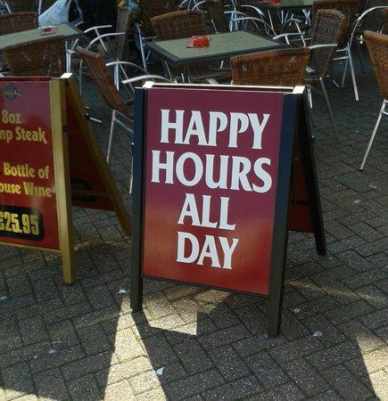 Shiraz: Happy hours all day July 2013