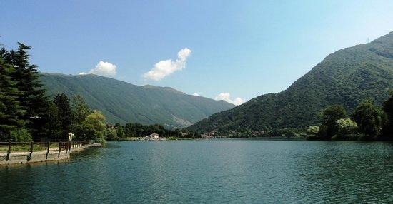 Endine Gaiano, Italia: lake Endine