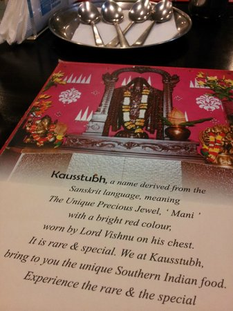 The Great India Place: Kausstubh - great Indian food served here!