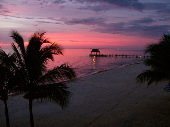 Residencias Reef Condos: Sunset from Vista de Pariso - 5200 Residencias Reef
