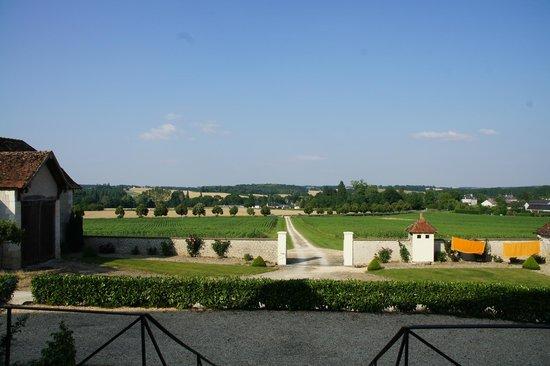 Domaine de la Maison Neuve: vue vers l'Est