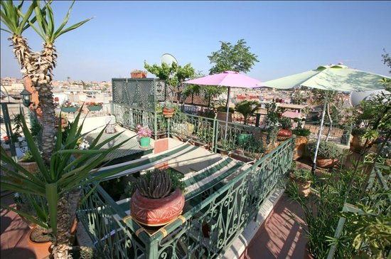 Riad Cherihane : Terrasse