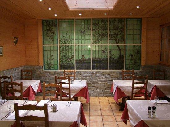 Hotel les Châlets : Restaurant